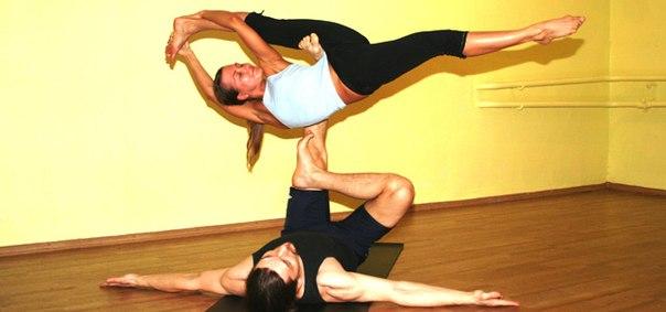 акро йога фото