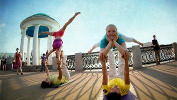 Акро-йога: йога для влюбленных и не только