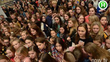 Фан-встреча с участницами Супермодель по-украински (Фото)