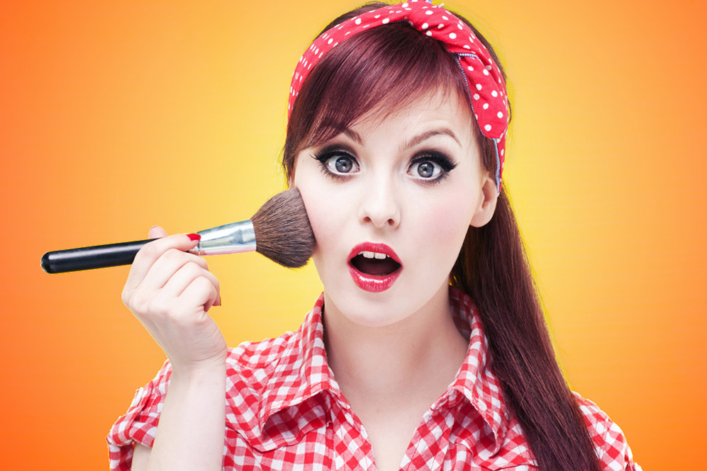 макияж стиляг