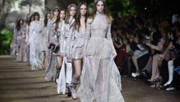 Дыхание женственности в коллекции Elie Saab Couture весна-лето 2016