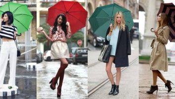 Зонт, как главный аксессуар осени